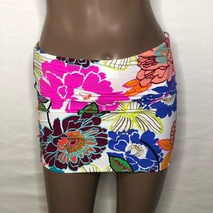 Trina Turk Swim - Trina Turk Radiant Blooms Convertible Swim Skirt